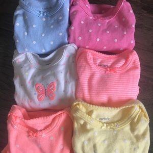 EUC Infant Girls Onesies